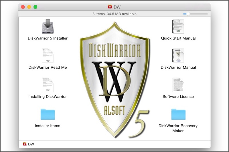 Disk Warrior Custom Recovery Disk