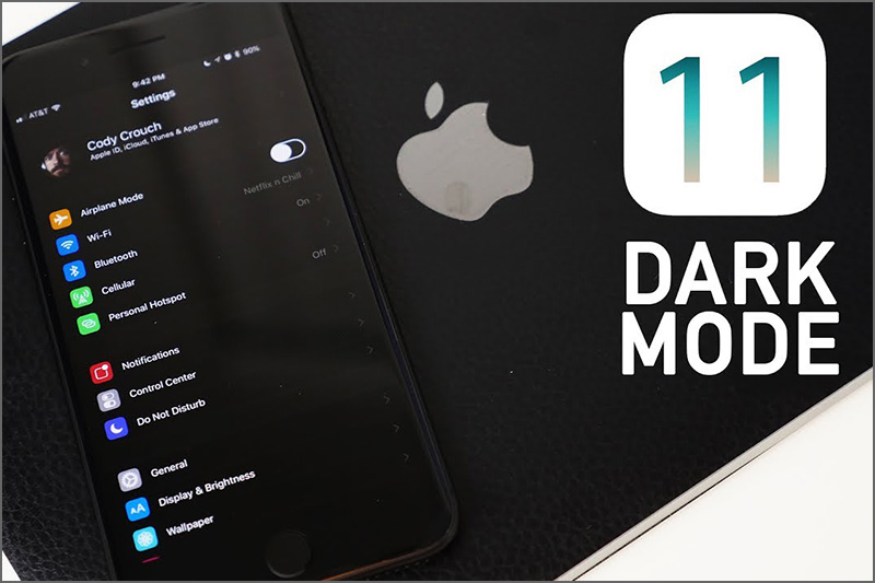 Apple Updates iOS 11 – Dark Mode